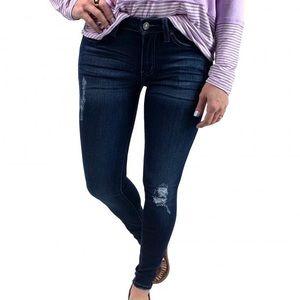 Plus KanCan Stretchy Denim Skinny Jeans - 2xl